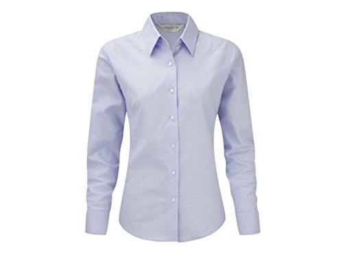 camicia donna xxxl Camicia Donna Oxford Russell-XXXL-Azzurro