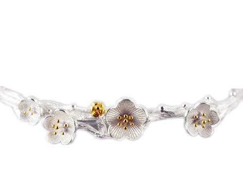 NicoWerk Damen Silber Armreif aus 925 Sterling Silber Offen SAR103