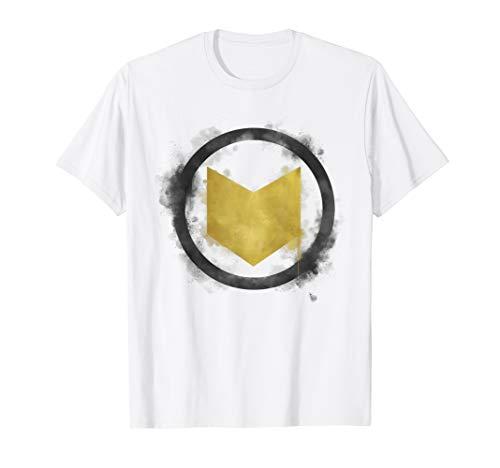 Marvel Avengers Endgame Hawkeye Spray Paint Logo T-Shirt