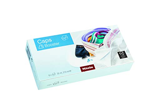 Miele Fleckenentferner Caps Booster/Waschmaschinenzubehör / 6er Pack/mit höchster Flecklösekraft/EasyOpen