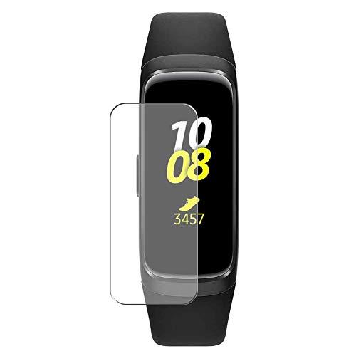 Vaxson 3 Unidades Protector de Pantalla, compatible con Samsung Galaxy Fit [No Vidrio Templado] TPU Película Protectora Reloj Inteligente Film Guard Nueva Versión