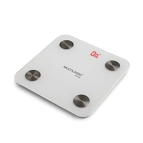 Balança de Bioimpedância Corporal Bluetooth Multilaser - HC059