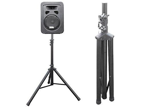 DRALL INSTRUMENTS 1 Pieza trípode del Soporte para Altavoces de Audio para PA, Disco, Evento en Vivo, Sala de ensayo, máquina Vocal, Escenario Modelo: BS3x1