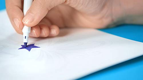 Estuche 8 rotuladores Maped con purpurina