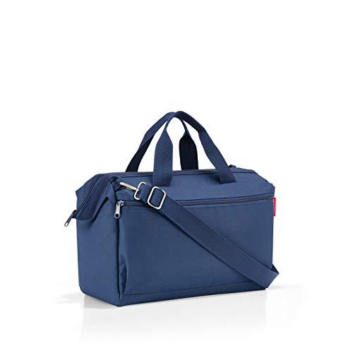 Reisenthel Allrounder S Pocket MO4005 in Navy Blau – Reisetasche mit 11l Volumen – für Alltag Reisen und Büro – B 39 x H 26 x T 16,5 cm