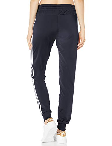 adidas Women's Essentials Tricot Cuffed Pants, Ink/White, 4X