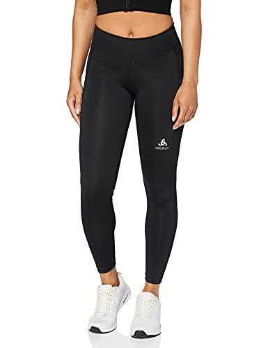 Odlo Tights Smooth Soft-Black, Pantaloni-Donna, XS