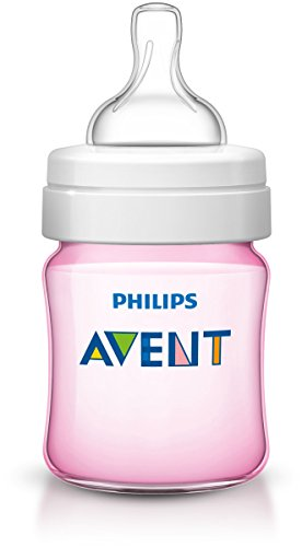 Mamadeira Clássica Anti-Colic Rosa 125ML - Philips Avent