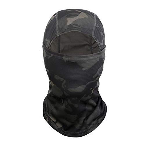 YNLRY Heat Holders - Pasamontañas para el cuello y la cabeza, 1/2 unidades, para invierno, ciclismo, ciclismo, color camuflaje negro, tamaño: 1 unidad.