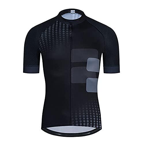 Maillot De Ciclismo para Hombre, Camisetas De Manga Corta, Camisetas Bicicleta Carretera, Camisetas MTB, Ropa Bicicleta De Secado Rápido y Transpirable para Ciclismo, Deportes Al Aire Libre