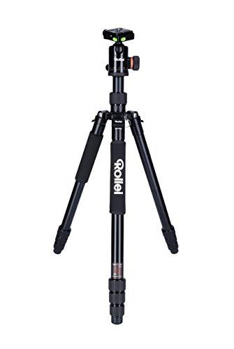 Rollei C6i - Kamerastativ mit Stativkopf und Tasche - Aluminium - Arca Swiss kompatibel
