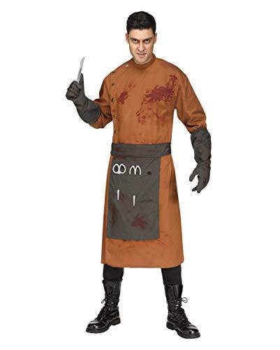 Fun World Verrückter Nervenarzt Herrenkostüm als Halloween Verkleidung