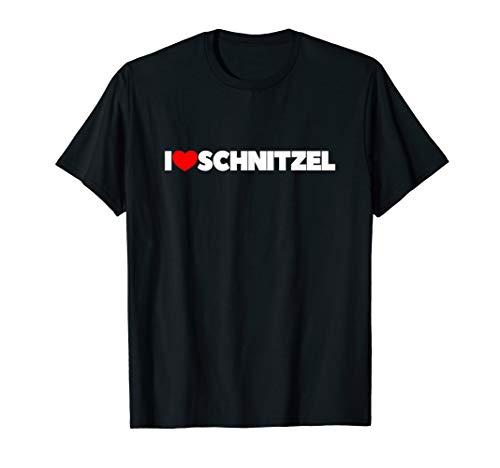 I Love Schnitzel - Ich liebe Schnitzel T-Shirt