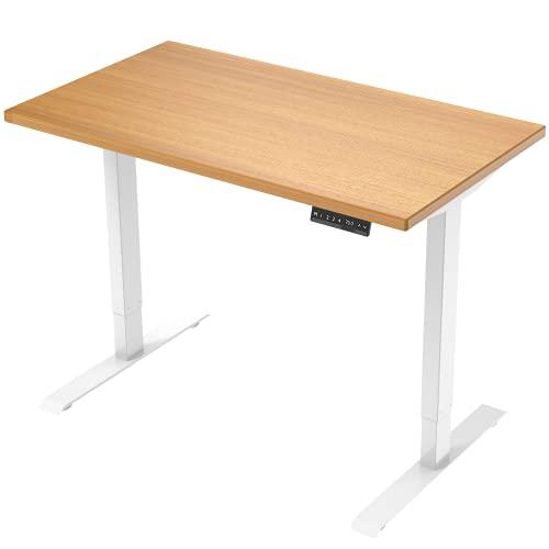 E.For.U® E7 Elektrisch Höhenverstellbarer Schreibtisch +...