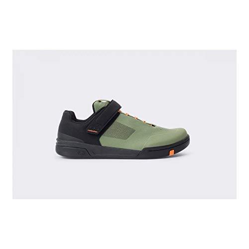 Crankbrothers Stamp Speedlace Schuhe grün/orange Schuhgröße US 14   EU 48 2021 Rad-Schuhe Radsport-Schuhe