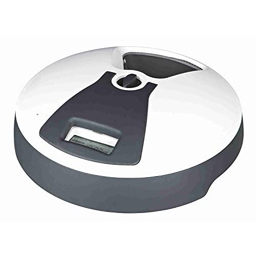 Trixie TX6 - Dispenser automatico per alimenti, 240 ml, colore: Grigio/Bianco
