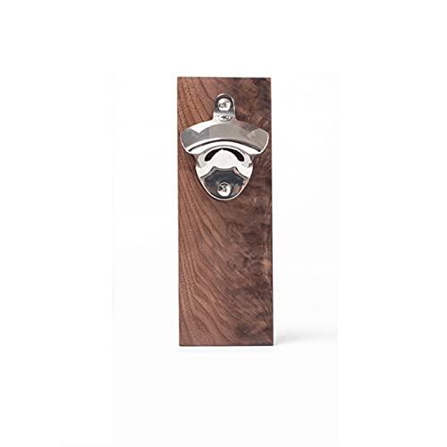 HNGM Abrebotellas de Pared Barra de pared montado en la pared caja fuerte botella abrebotella magnética abrelatas de la pared de la pared Montaje de la pared del imán del imán de la cerveza de la cafe