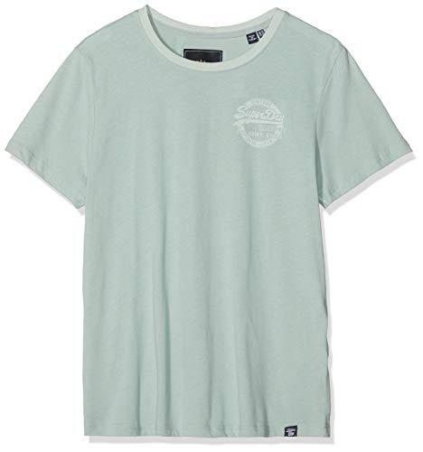 Superdry Vintage Logo Heritage Entry tee Camiseta, Gris (