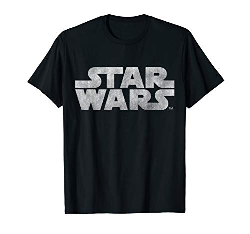 Star Wars Simple Vintage Logo Graphic T-Shirt