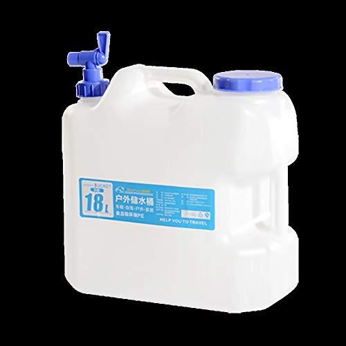 Bidón de agua Agua mineral de calidad alimentaria al aire libre, purificado beber barriles de agua recipientes de plástico for los recipientes de agua del tanque del coche del tanque de almacenamiento