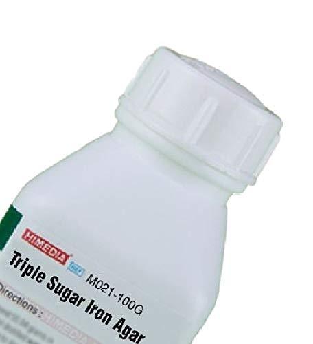 HiMedia M021-100G OFFicial mail order Triple Sugar Max 65% OFF Iron Agar g 100