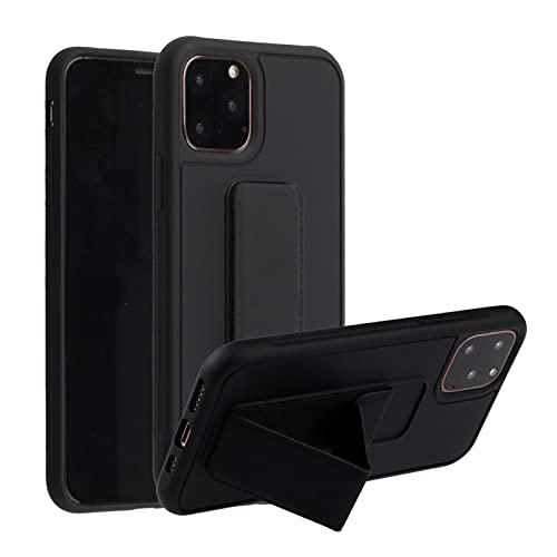 Oihxse Coque Mode Compatible pour Huawei Mate 40 Pro Étui Silicona Liquide Souple Housse Protection Cover avec Support Magnétique pour Voiture Ultra Mince Anti-Chute Bumper Case,Jaune