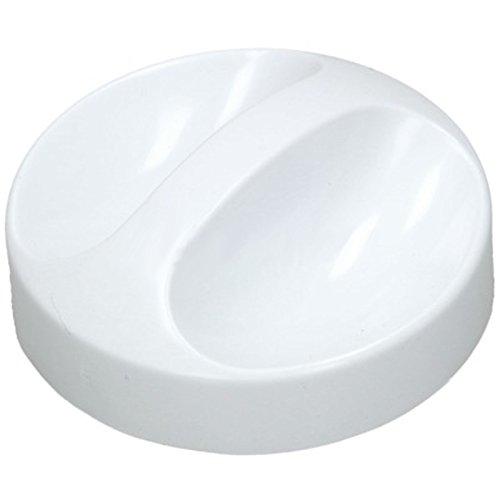 SPARES2GO Interruptor de botón de control para nevera Indesit congelador/máquina de hielo (blanco)