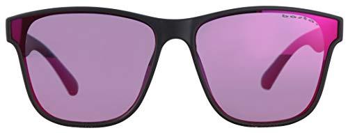 Basta FRAMY Sonnenbrille Black Matte/Purple red Mirror