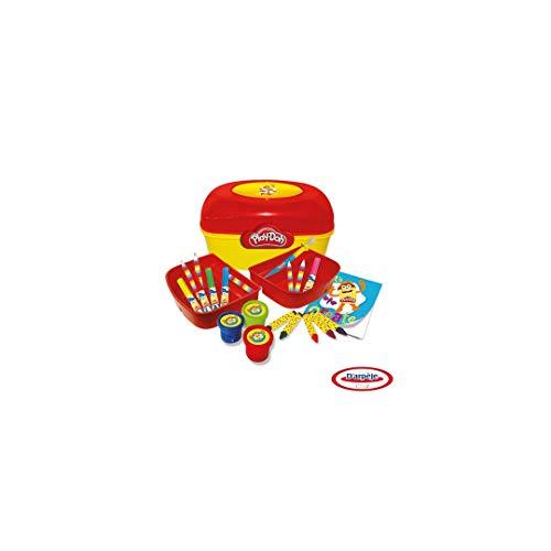 PLAY-DOH Plastic Vanity/Kleur Potloden/Vilt Tips/Zachte Potloden/Kleurboek/Modelleren Klei/Gereedschap/Stencils