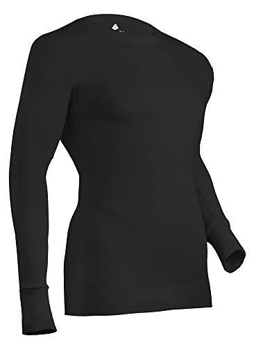 Indera - Camisa de Manga Larga para Hombre, Talla 3X, Color Negro