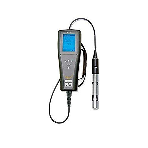 YSI 607129 Pro20i Dissolved Oxygen & Temperature Meter, 4M Integral Cable and 2002 Galvanic Sensor Kit