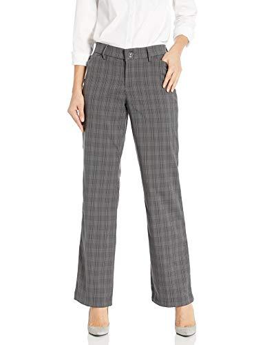 Lee Women's Flex Motion Regular Fit Trouser Pant, Dazed Greensboro Plaid, 6 -  46332-96-6