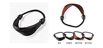 Hairpiece Stretchy Hair Ring for Girl #natural brown Korean style Kpop style Korean Hair style