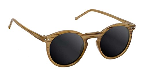 Vitreo SUNHATERS-Leonard occhiali da sole-Brown Tortoise//Tan