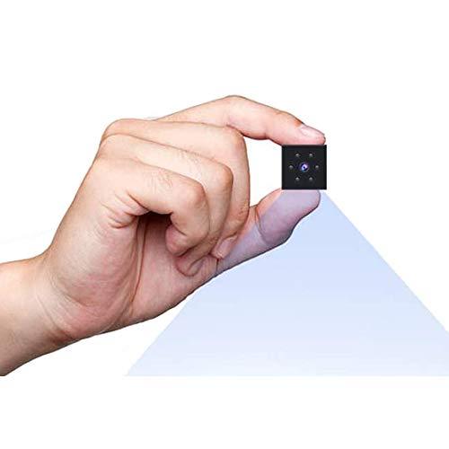 Mini Cámaras, Cámara de Vigilancia de Seguridad para el Hogar Inalámbrica Pequeña 1080P HD, Cámara Micro Niñera con Visión Nocturna y Detección de Movimiento