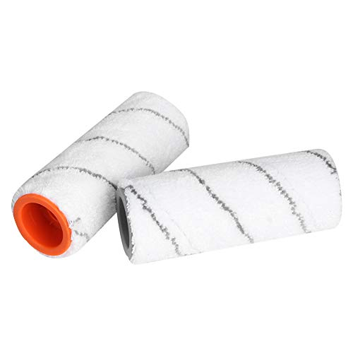Uxsiya Artículos para el hogar Cepillo rodante Multifuncional para barredora, Cepillo rodante, fácil de Desmontar Seguro para KARCHER FC3 Hogar KARCHER FC5