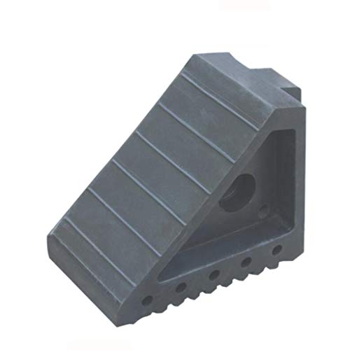 Chausson en caoutchouc, triangle Portable Multifonction pente voiture camion Fixtures Curb Ramps rampes de véhicule rampes rampe noir (taille : 19.5 * 10 * 15CM)