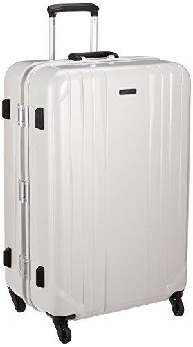 [ワールドトラベラー] スーツケース サグレス ストッパー付 91L 69 cm 5.4kg ホワイトカーボン