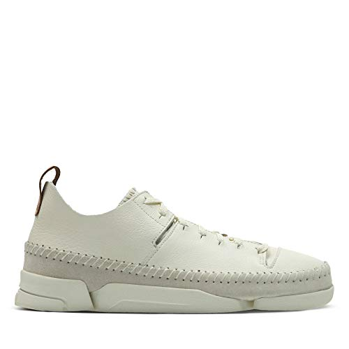 Clarks Originals Trigenic Flex, Damen Sneakers, Weiß (Weiß Nubuck), 40 EU (6.5 Damen UK)