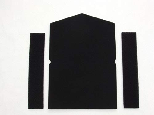 Filter Set für Miele 6057930 und 968381 Schwammfilter Wärmepumpentrockner Filter Trockner Kondenstrokner Filterschaun Schaumstoff Türfilter