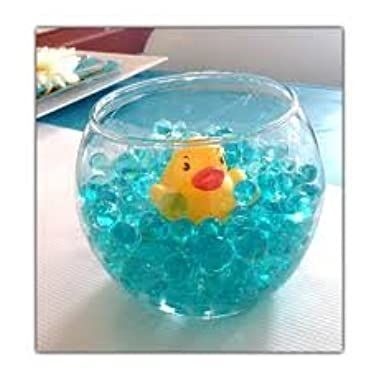 JellyBeadZ Brand Bundle : One 12 Gram Packet of Blue Water Beads and 1 Rubber Ducky
