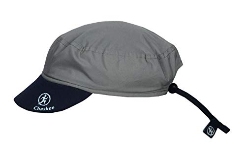 Chaskee Reversible Cap Microfiber Plain, One Size, Dark Grey