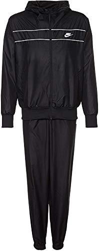NIKE Trainingsanzug NSW Woven Hooded Cuffed Warm-Up - Chándal, Color Negro, Talla XXL