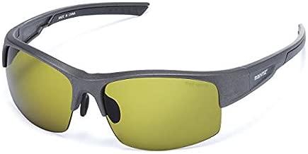 High Definition Golf Ball Finder Sport Glasses for Men Women Golf Sunglasses Golf Sport Glasses (Gun color Frame Green Lens)