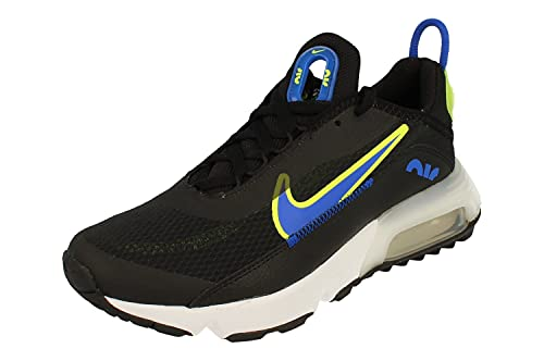Nike Air Max 2090 GS Running Trainers DA4669 Sneakers Scarpe (UK 5.5 us 6Y EU 38.5, Black Racer Blue Volt 001)