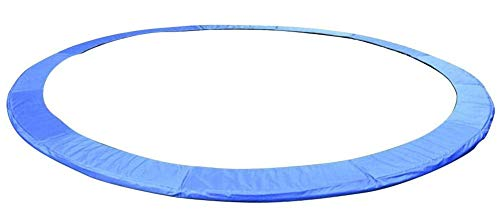 ZWFPJQD Trampoline Replacement Spring Cover Padding Pad & Safety Net Enclosure Surround Bundle Available,16FT
