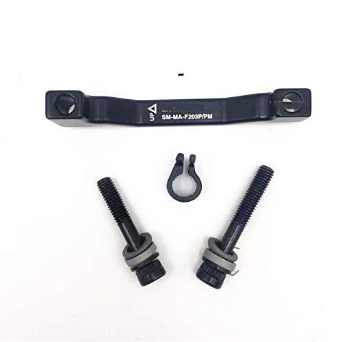 TSAUTOP Newest Adattatore del Disco rotore del Freno SM-MA Originale 180mm 203mm R180P / s, R203P / s, F180P / P, F203P / P Applicare RT86 RT81 RT56 per Shi-MA-No (Color : SM MA F203PPM)