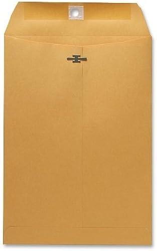 Spaßco Verschluss Umschlag, 28 s., 7–1 2 10–1 5,1 , 100 o Box, Kraft (SPR08875)