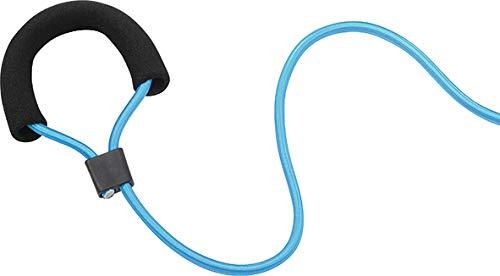 Deuser Zugseil leicht Fitnessband, blau, one Size