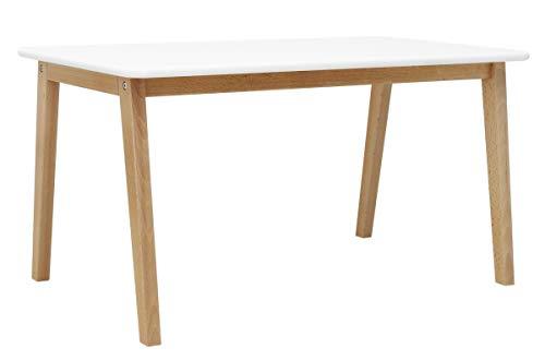 Bopita Tisch, Wood, Weiß, One Size